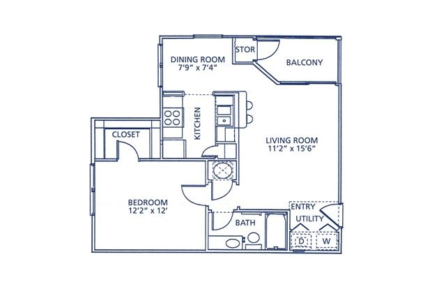Bartow Floor Plan at Berkshire at Citrus Park, Florida, 33625