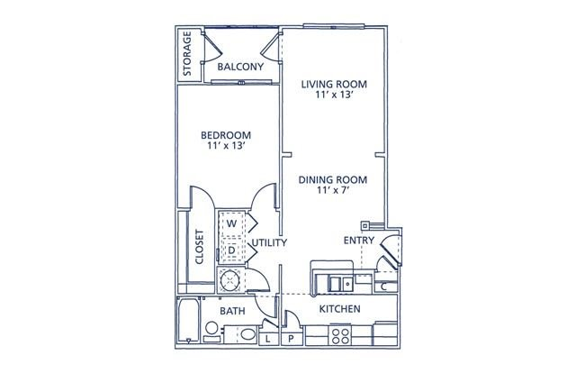 Jasper Floor Plan at Berkshire at Citrus Park, Tampa, FL, 33625