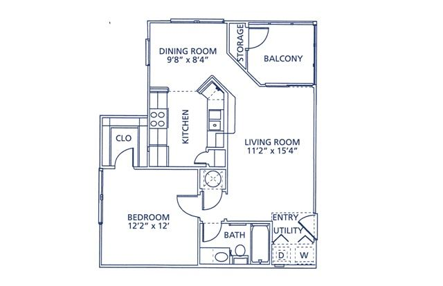 Wesley Floor Plan at Berkshire at Citrus Park, Tampa