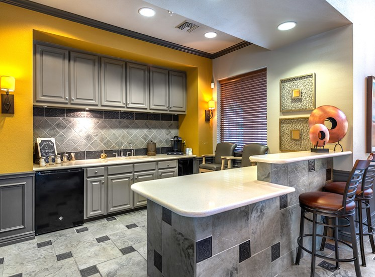 Resident Clubhouse Kitchen