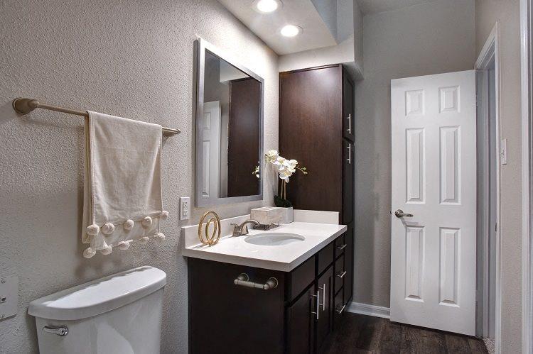 Luxurious Bathrooms at Greenbriar Park, Texas
