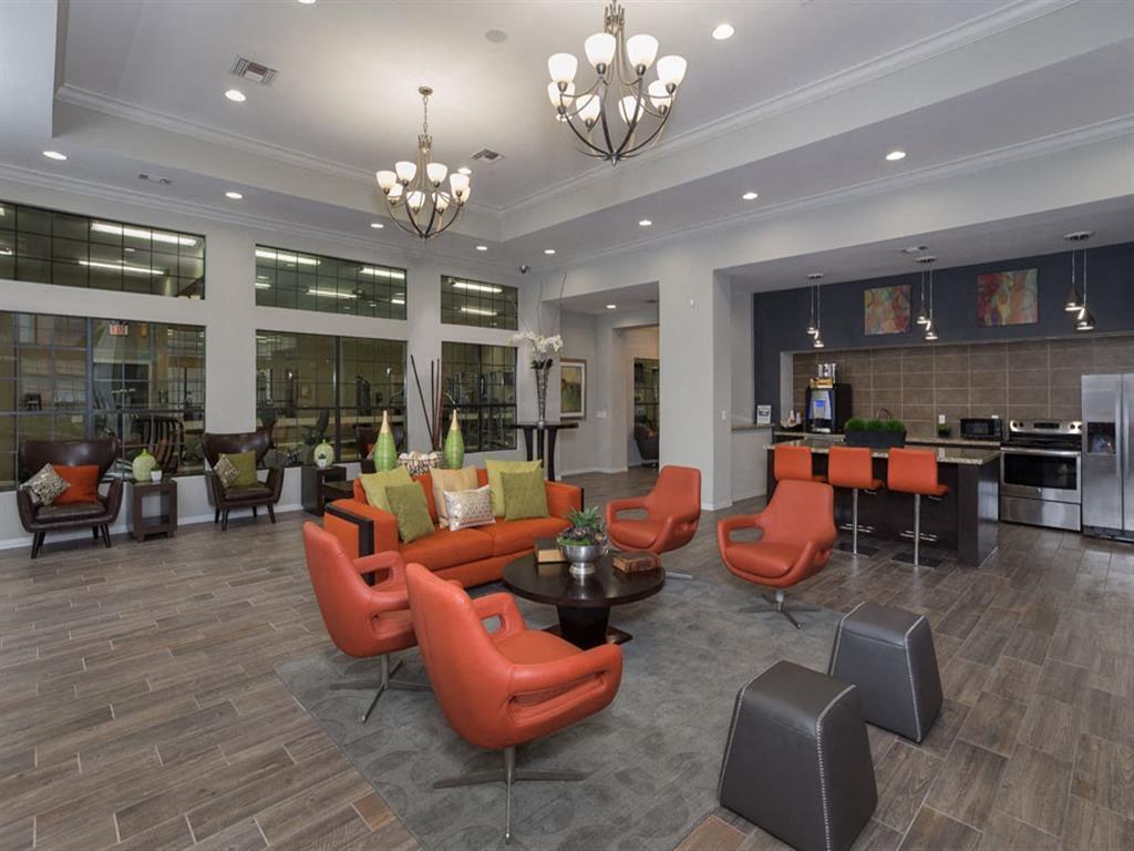 Resident Clubroom at Greenbriar Park, Houston, TX