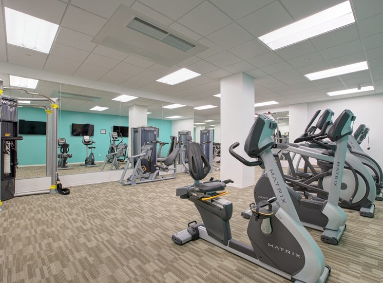 24 Hour Exclusive Fitness Room