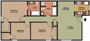 3 Bedroom - C