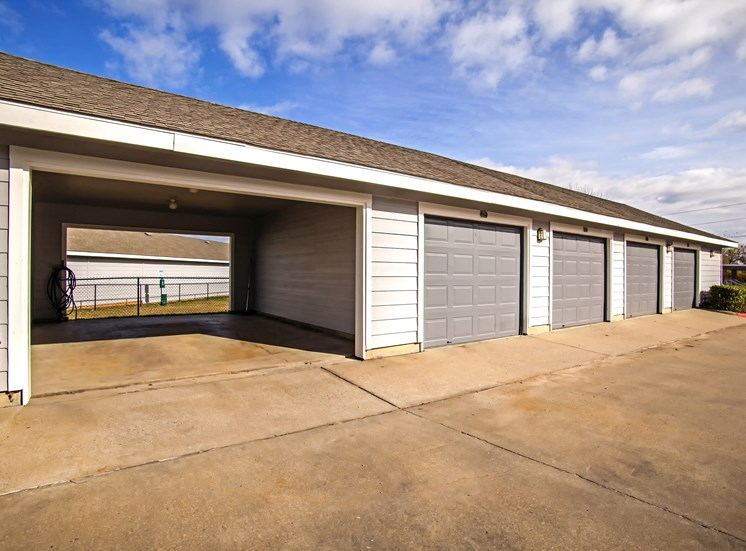 Garages Included