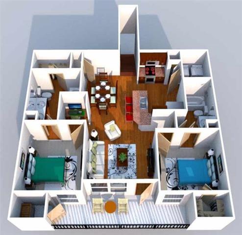 Versailes Floor Plan 6