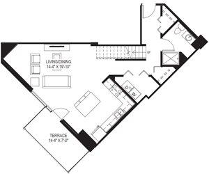 2 Bedroom Townhomes