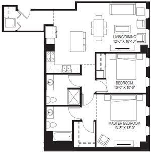 Penthouse 2 Bedrooms