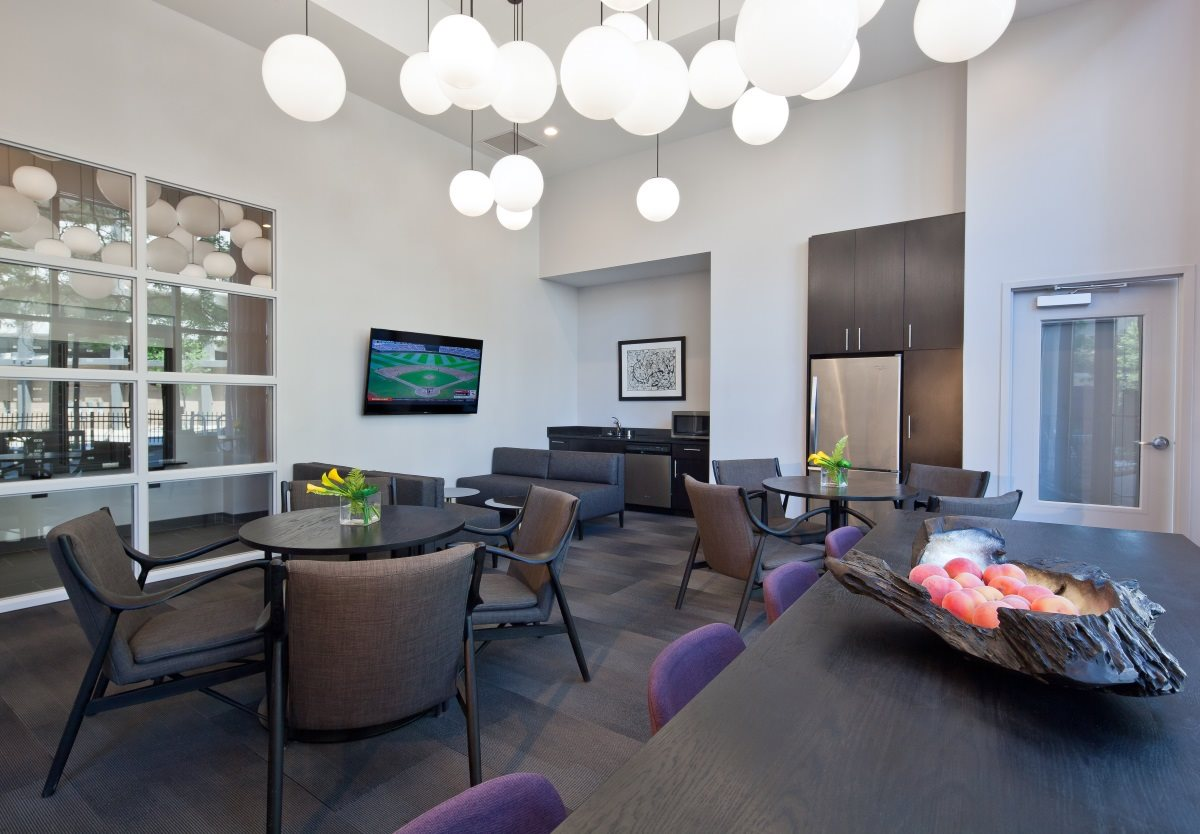 Catch the Milwaukee Bucks game in the TV Lounge at The Buckler.