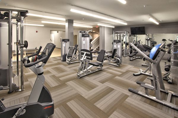 Fully Equipped Fitness Center at Fountain Place, Eden Prairie, 55344