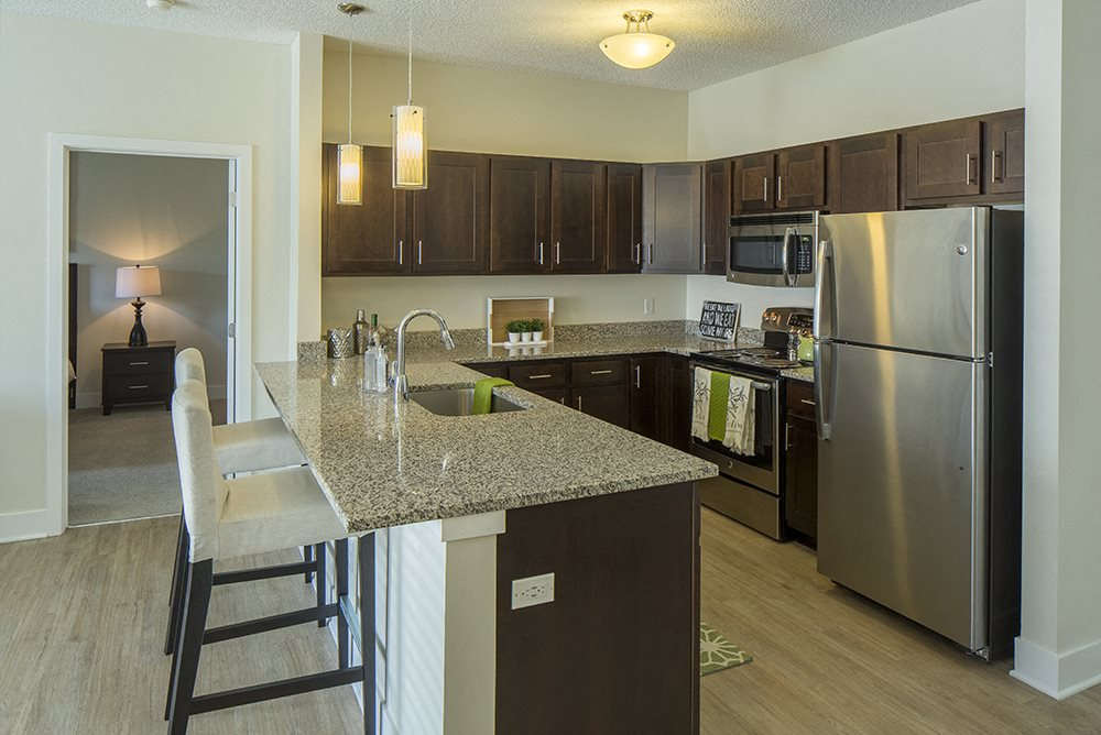 Kitchen at The Addison Apartments in Shakopee, MN