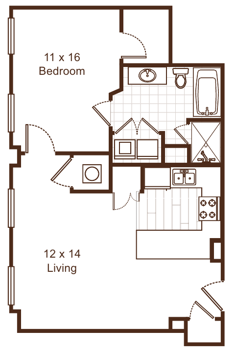 Floor Plans Of Metro67 In Memphis Tn