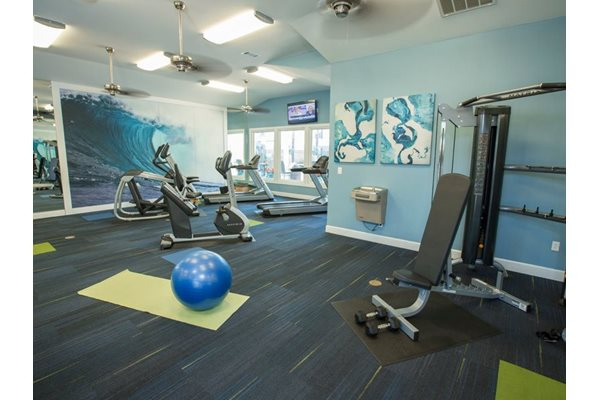 Fitness Center  at Grande View Apartment Homes, Biloxi