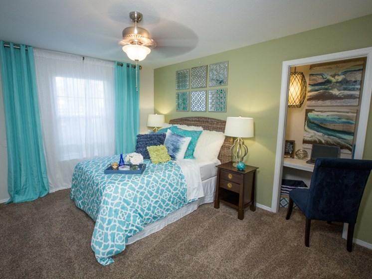 Bright Guest Bedroom at Grande View Apartment Homes, Biloxi