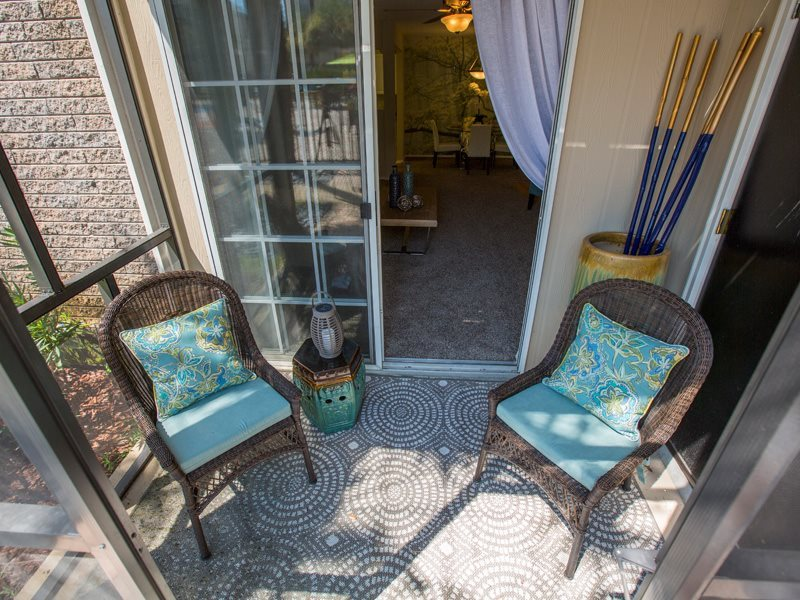 Private Balcony  at Grande View Apartment Homes, Biloxi
