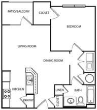 The Alabama Floorplan at Villas at Hannover