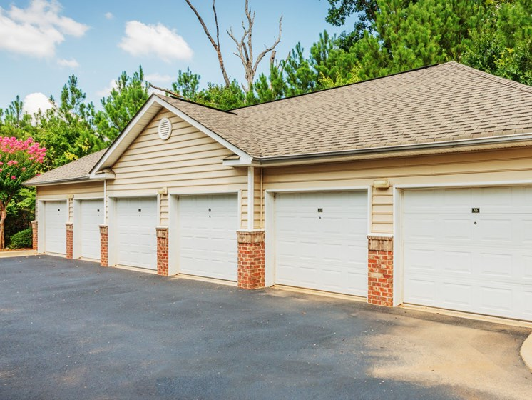 attached garages