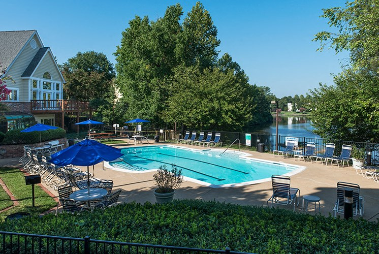 Pool at Wilde Lake Apartments for rent in Henrico VA