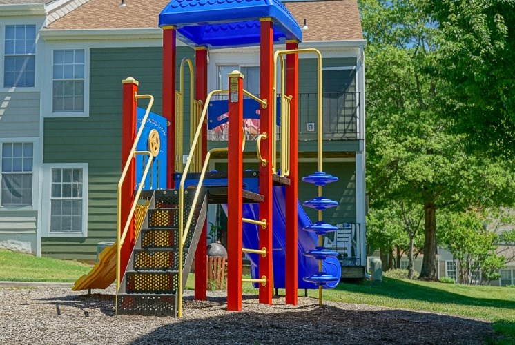 Playground at Hanover Crossing Apartments in Mechanicsville VA