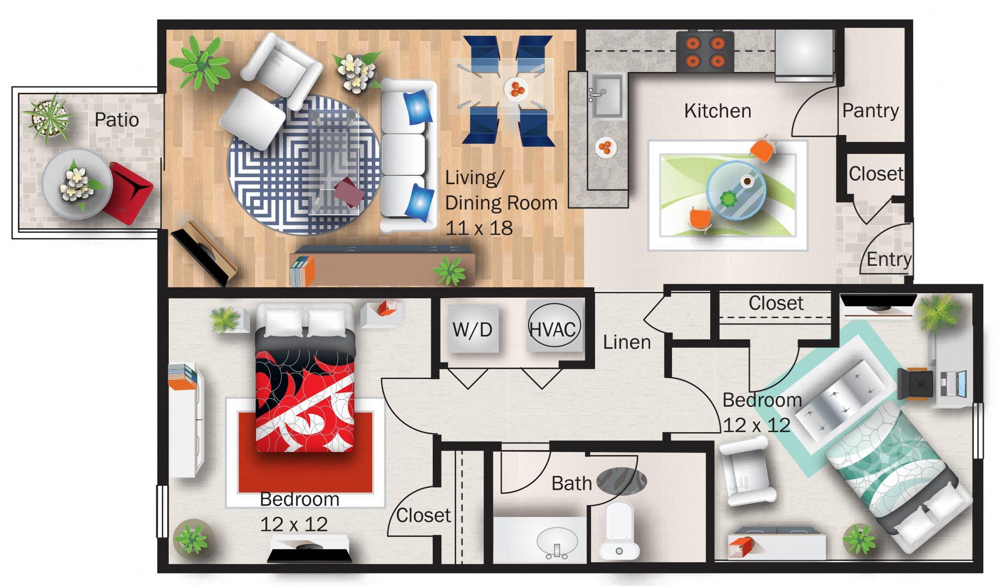 Magnolia Floor Plan 3