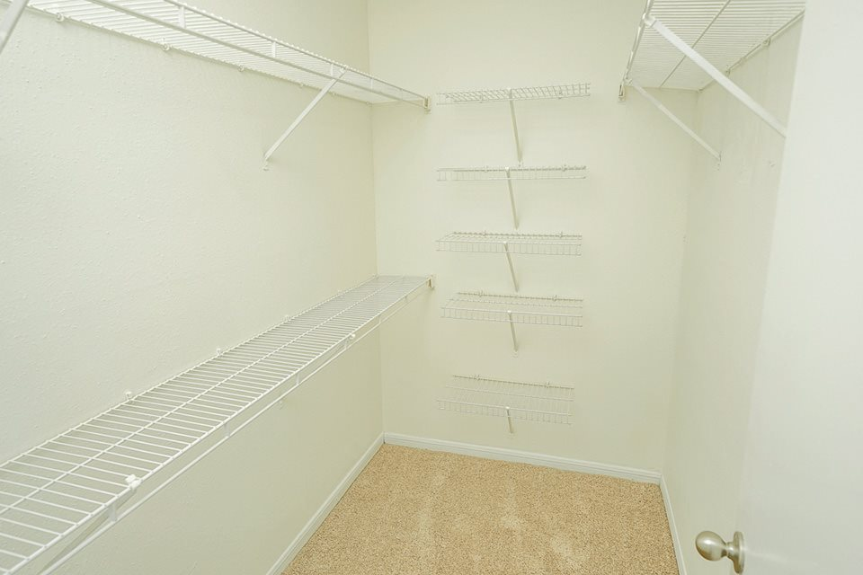 Closets in  Chesapeake Bay Apartments in Newport News VA