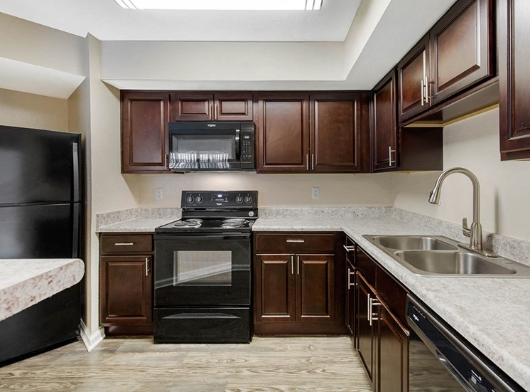 Newly Remodeled Kitchen at Chesapeake Bay Apartments