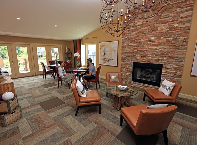 Beautifully Furnished Clubhouse Interior