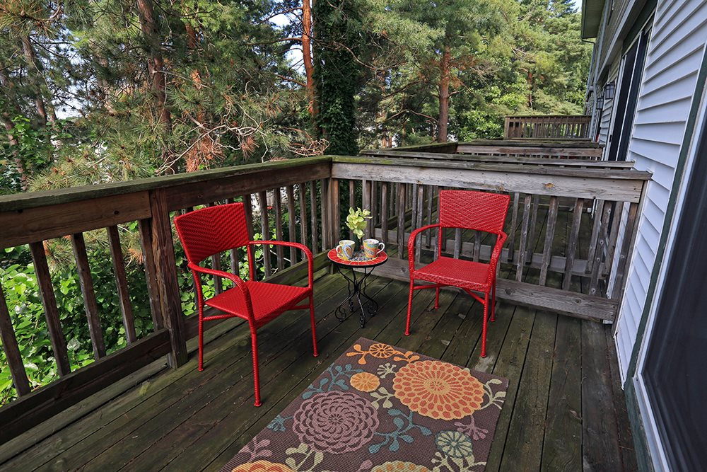 Enjoy your outdoor space!