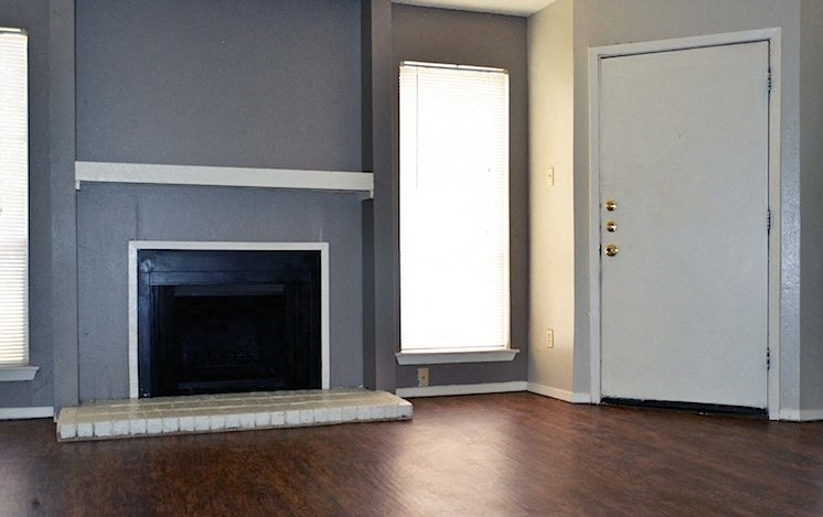 Fireplaces available