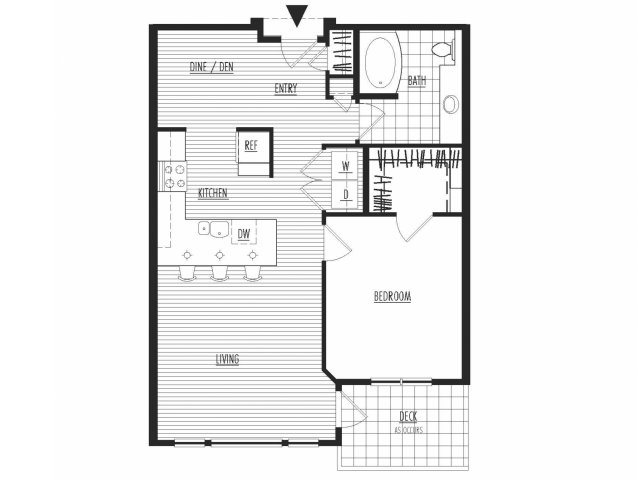 The Henry Floor Plan 3