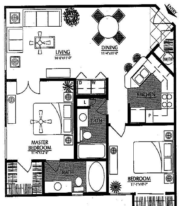 Floor Plans Of Monte Viejo In Phoenix, AZ