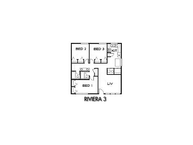 3 Bed Floor Plan 1