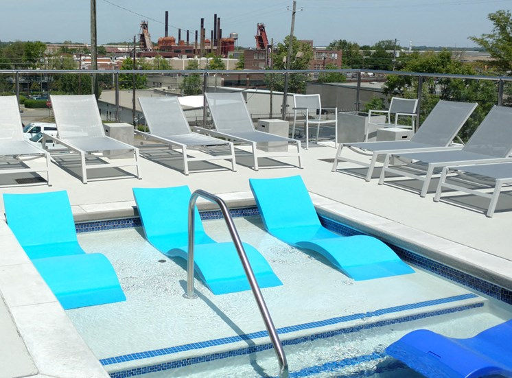 Iron City Lofts Pool
