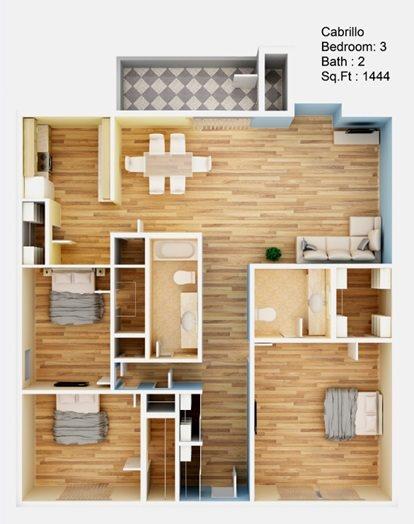 Cabrillo Floor Plan 5