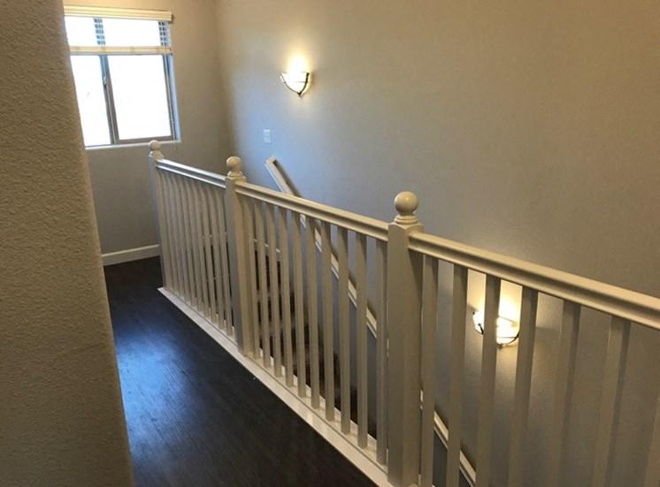 Upstairs Hallway Hardwood Floors