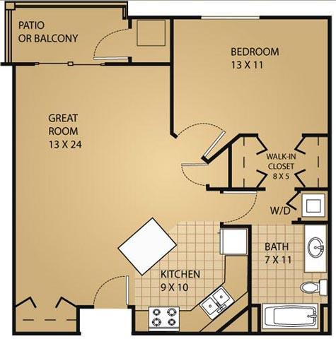 Bedford  sc 1 st  RENTCafe & Door Creek Apartments 925 Harrington Drive Madison WI - RENTCafé