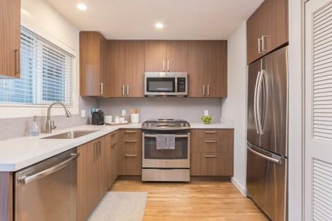 Kitchen l Parc Marin Apartments