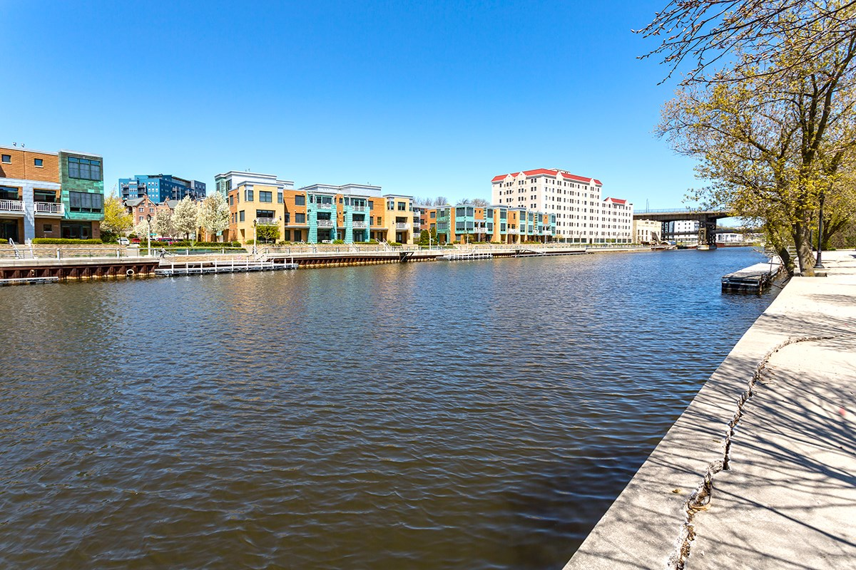 River Walk at Trostel Square Apartments in Milwaukee, WI
