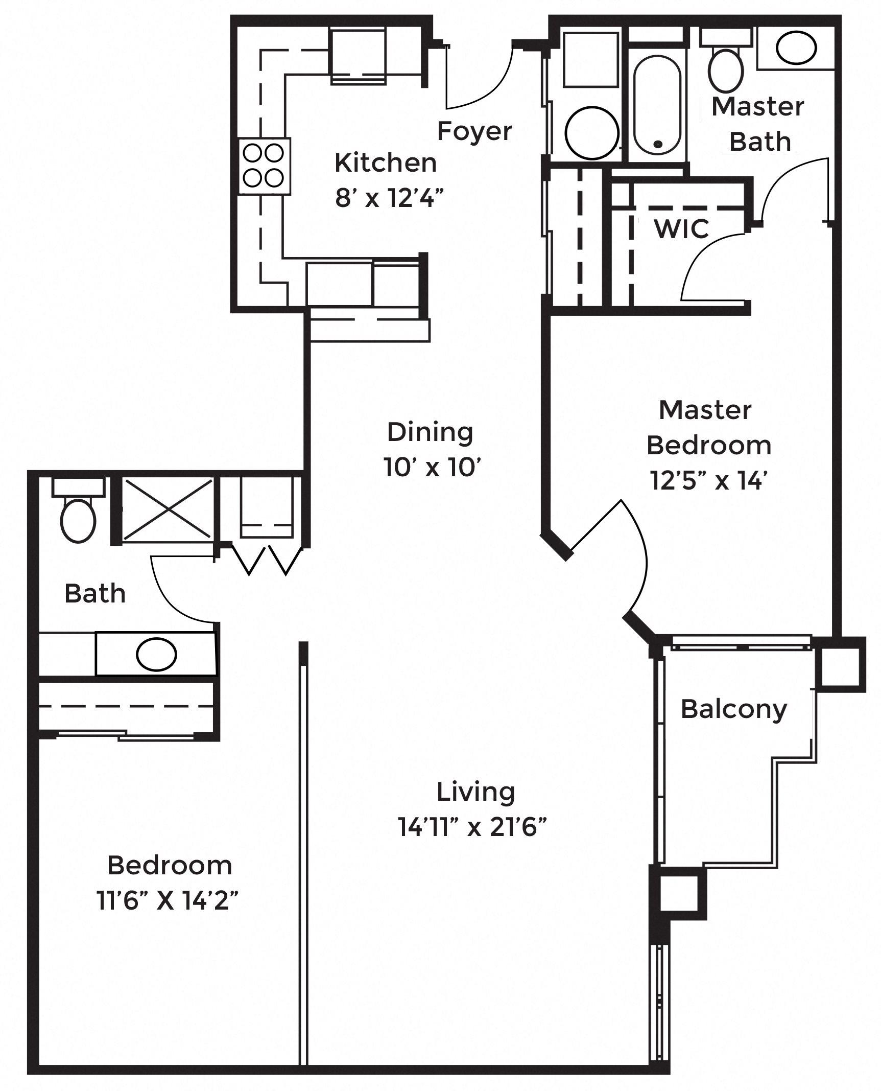 2D Floor Plan 14