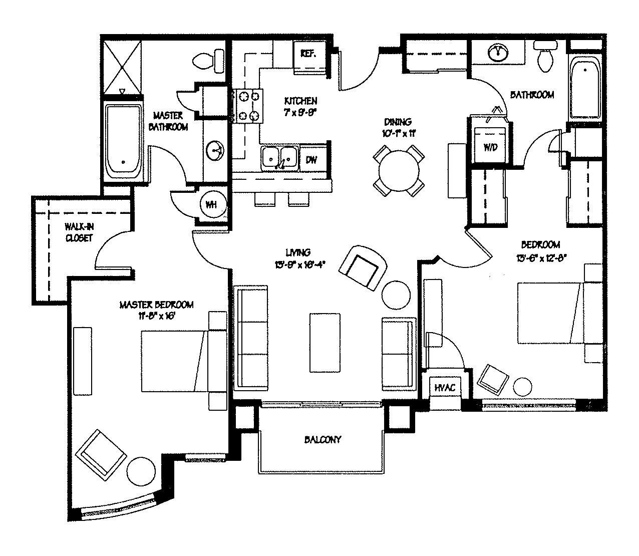 2K Floor Plan 11