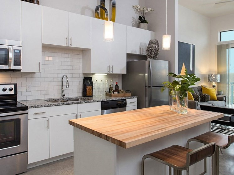 kitchen downtown austin apartments