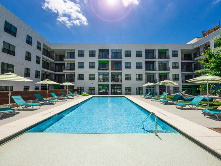 apartments in east austin with a pool
