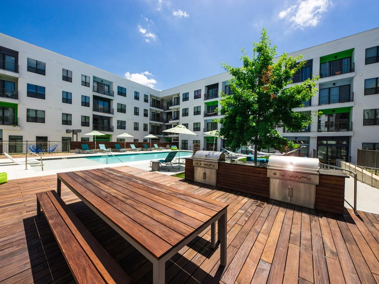 rooftop deck apartments in east austin