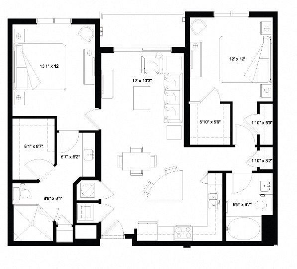 B2 Floor Plan 9