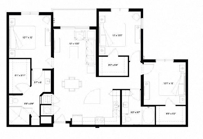 C1 Floor Plan 14