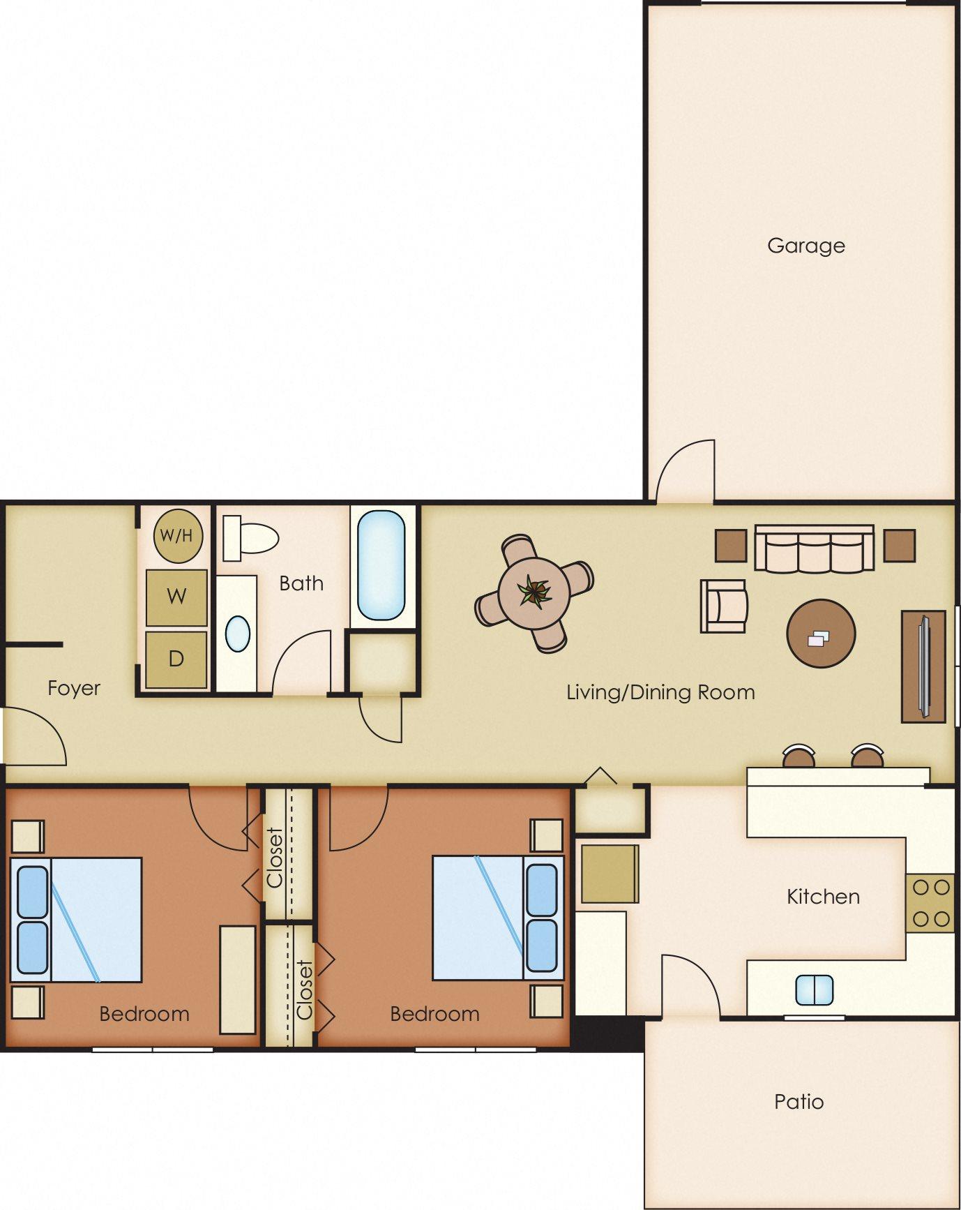 Bahia Floor Plan 1