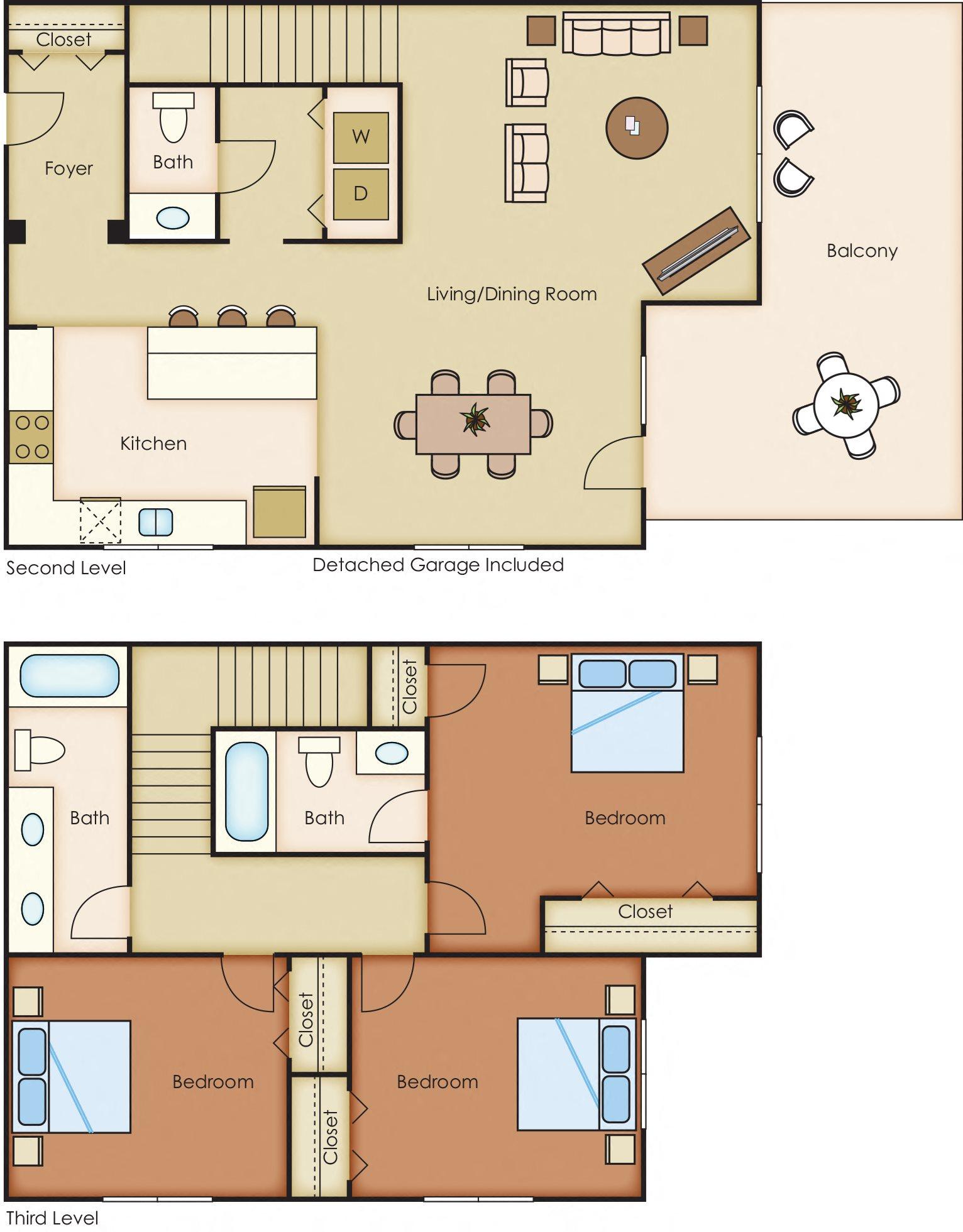 Buffalo Floor Plan 4