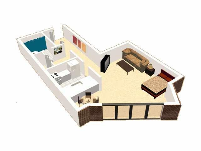 Studio B Floor Plan 2