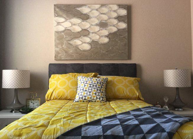 Boulder Pointe Model Bedroom
