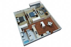 Two Bedroom One Bath/B5